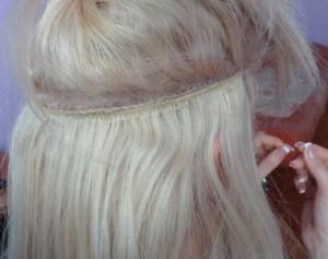 Пришивное наращивание волос в Запорожье