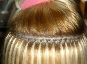 Английское наращивание волос в Запорожье